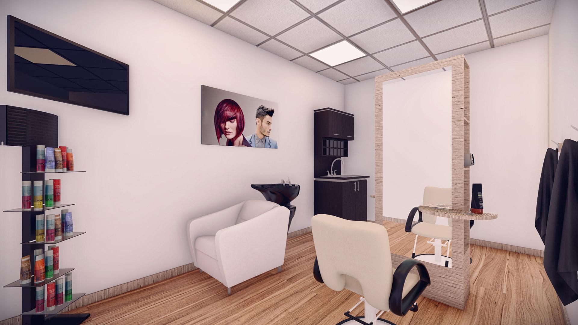 Evolution Salon Studios - Deluxe Double Suite