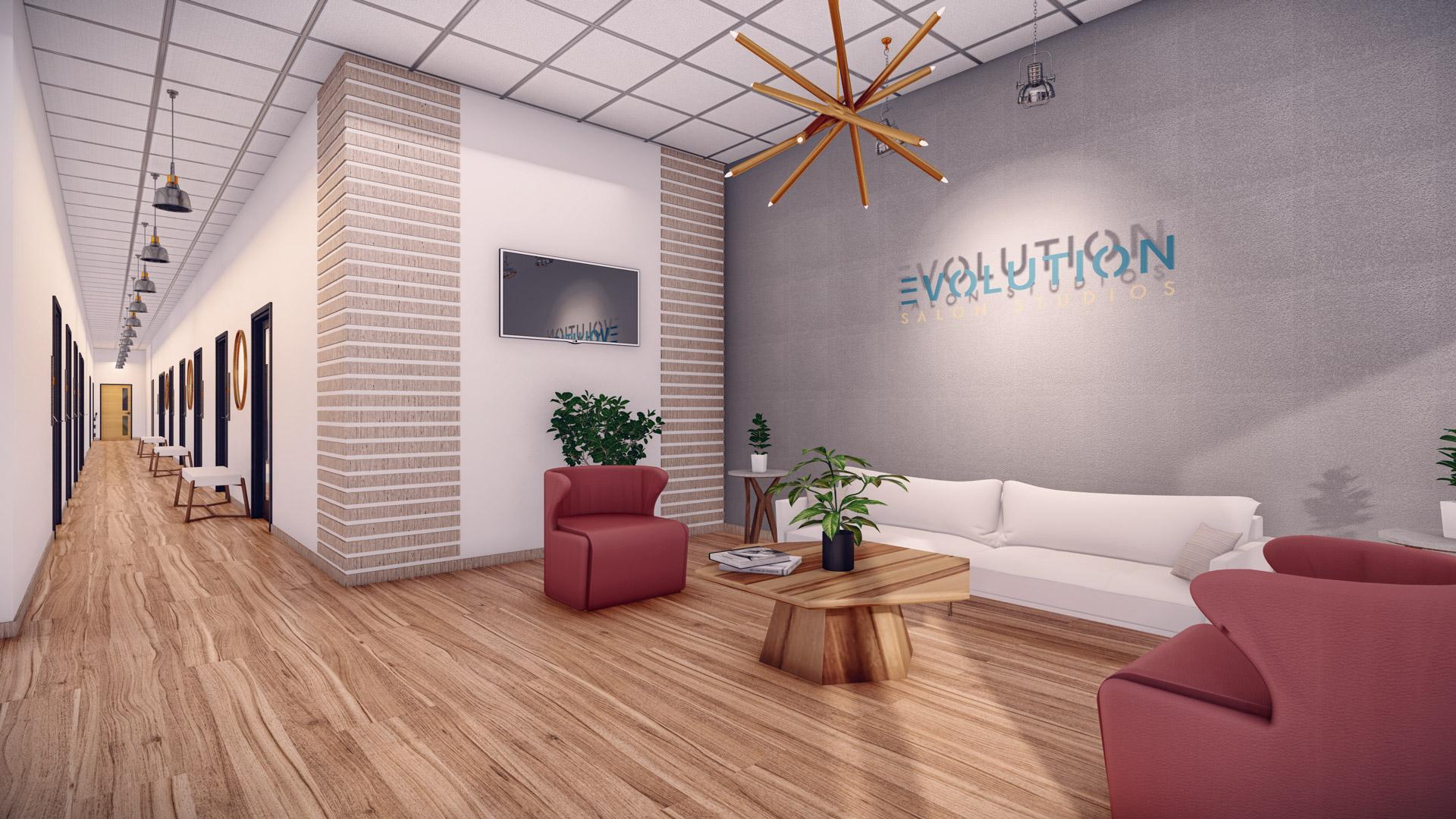 Evolution Salon Studios - Lobby